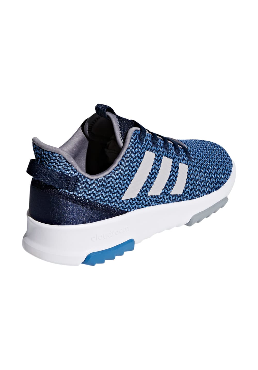 2a985eafda01f3 adidas CF RACER TR K - Running shoes - Blue