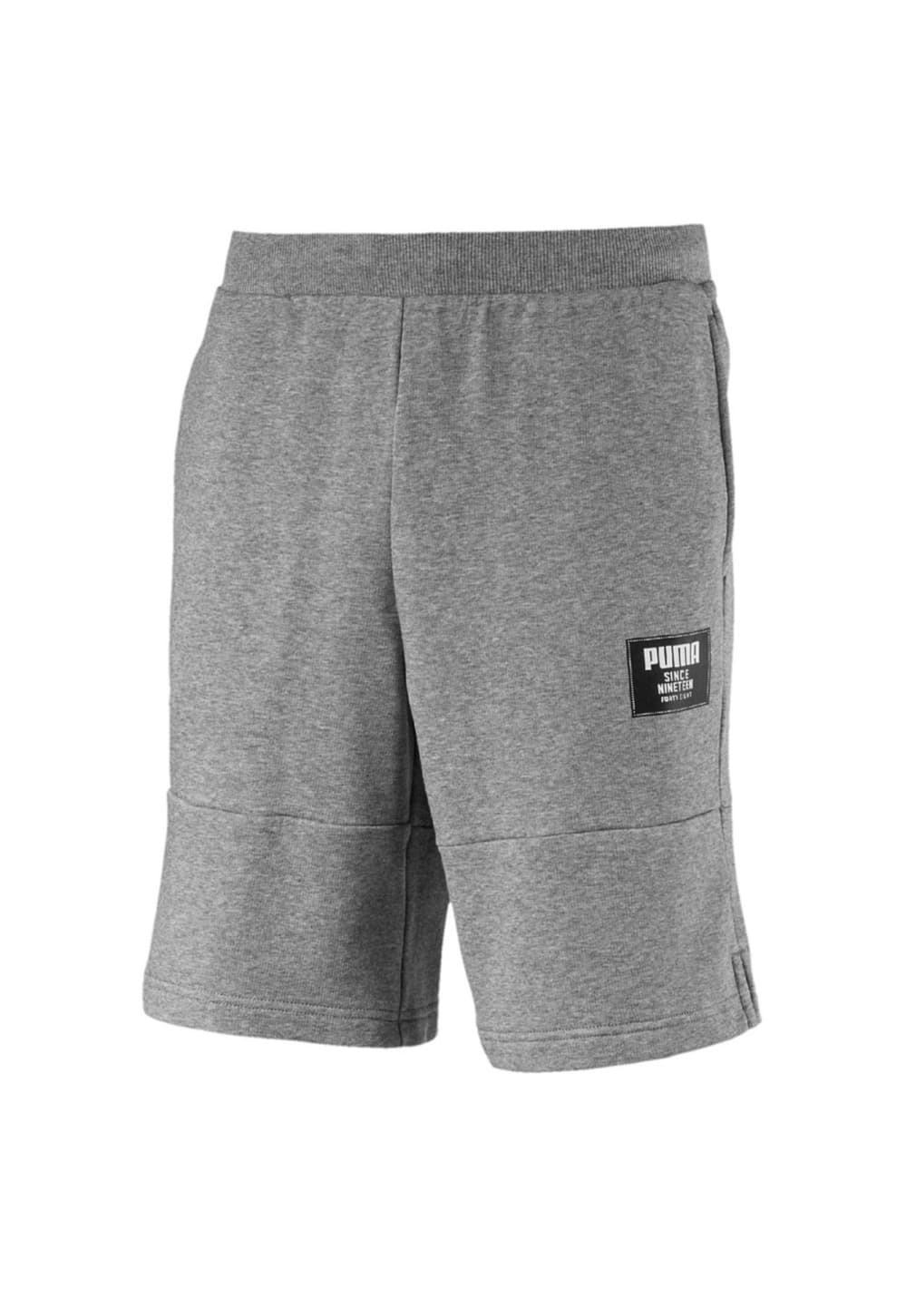 87e3a3c1013636 Puma Rebel Block Shorts - Fitnesshosen für Herren - Grau   21RUN