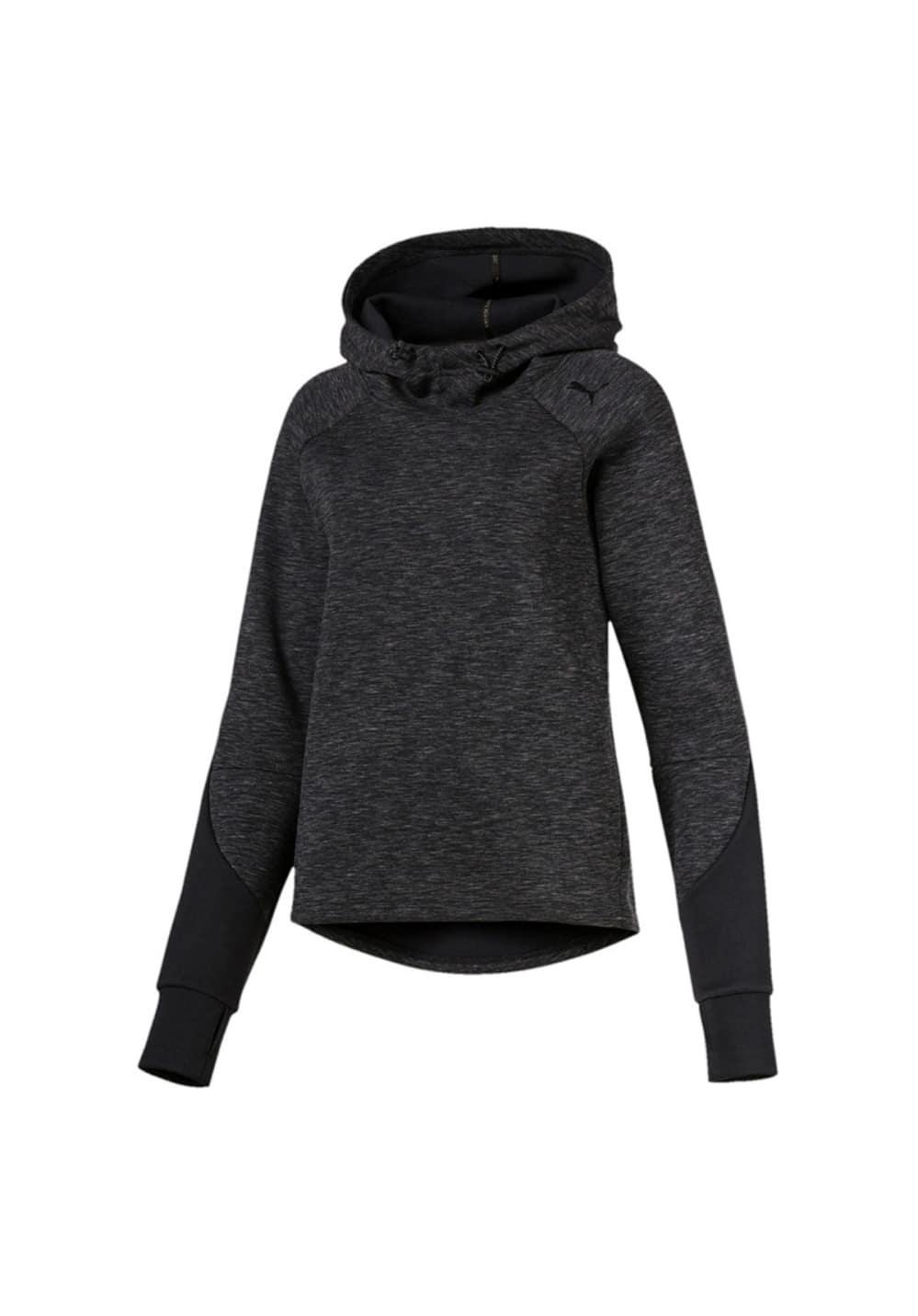 Puma EVOSTRIPE Hoody - Sweatshirts & Hoodies für Damen - Schwarz