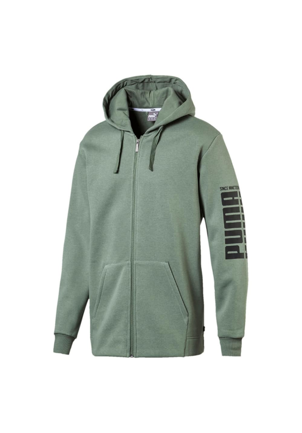 08116d9d4a Puma Rebel Bold FZ Hoody FL - Casual clothing for Men - Green