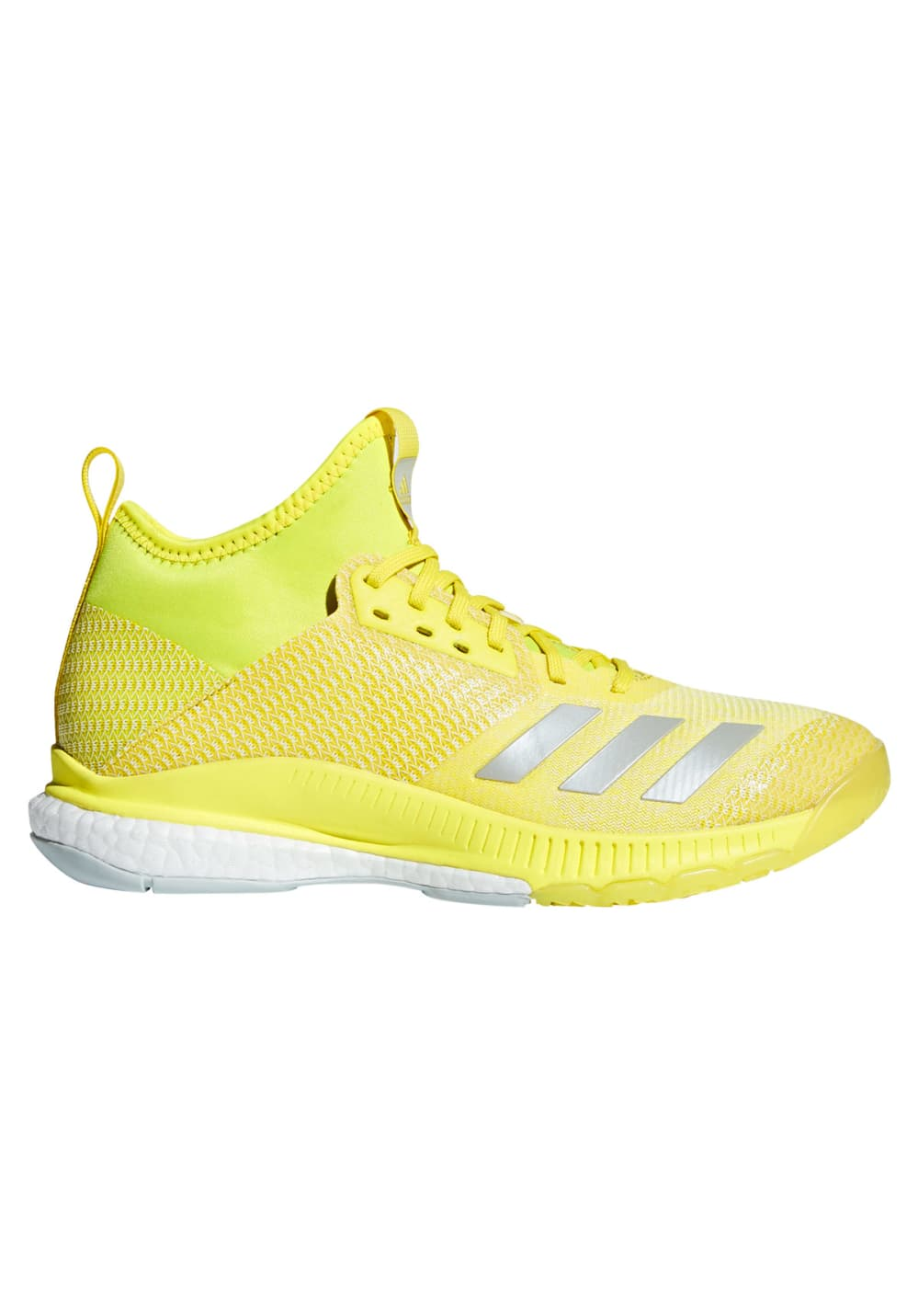 16ce06716853c adidas crazyflight X 2 mid - Volleyball shoes for Women - Yellow | 21RUN