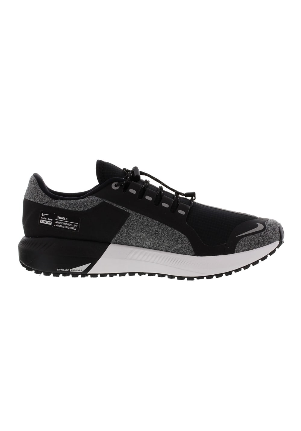 los angeles 1a8df 58c86 Nike Air Zoom Structure 22 Rn Shield - Running shoes for Women - Black