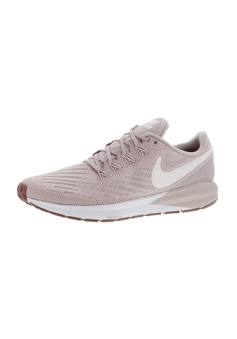 9d671f76e3 Nike Air Zoom Structure 22 - Chaussures running pour Femme - Rose ...