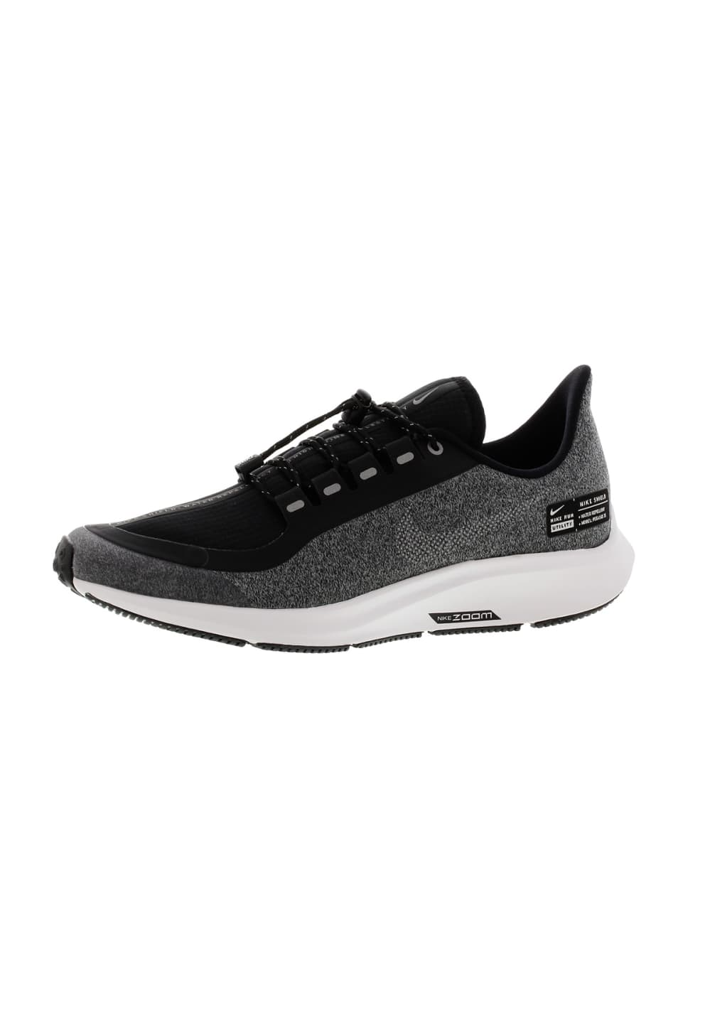 save off ea791 8fbd5 Nike Air Zoom Pegasus 35 Shield Gs - Running shoes - Black