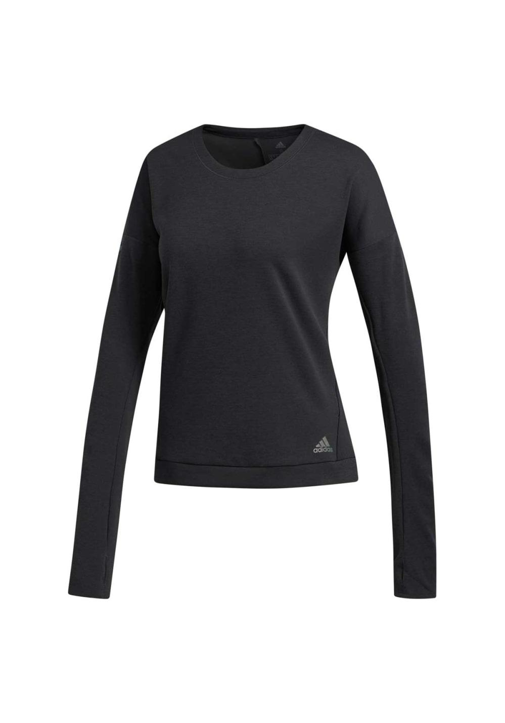 adidas Women's Aktiv Hoodie Long Sleeve Shirt