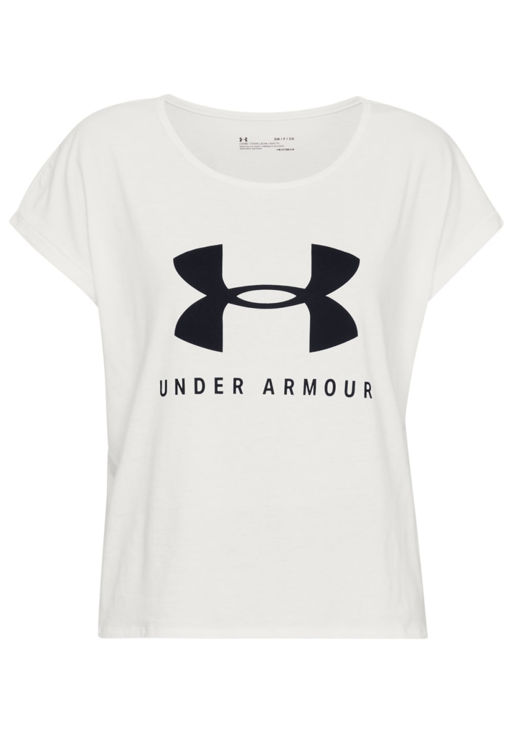 fa6380ae Under Armour Graphic Sportstyle Fashion Short Sleeve - T-Shirts for Women -  White