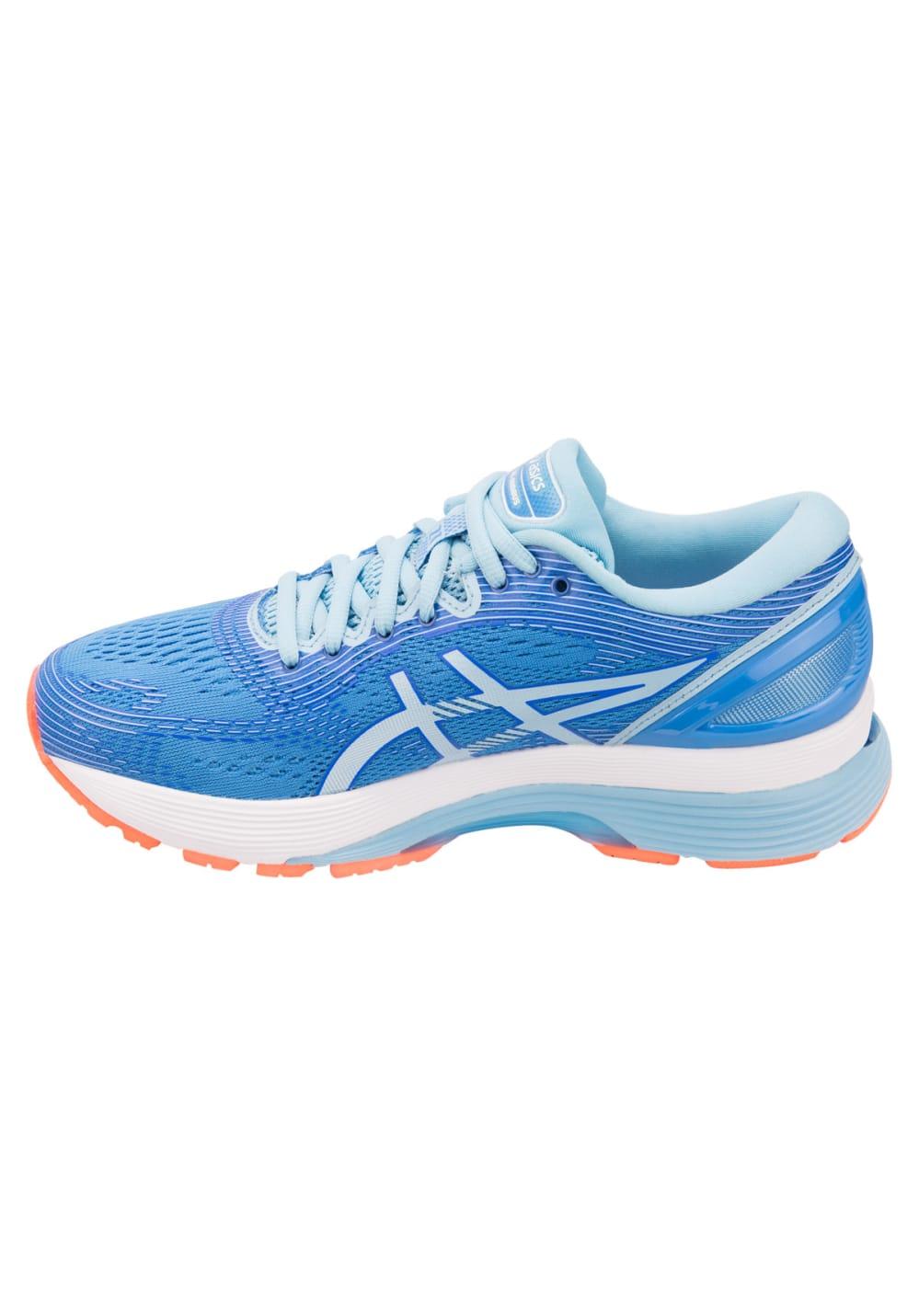 ASICS Gel-Nimbus 21 - Laufschuhe für Damen - Blau