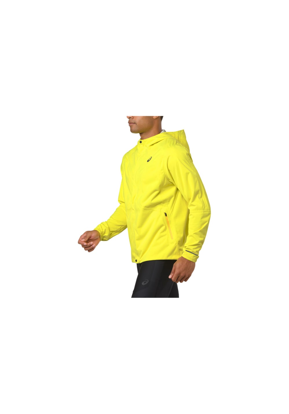 ASICS Accelerate Jacket Laufjacken für Herren Gelb
