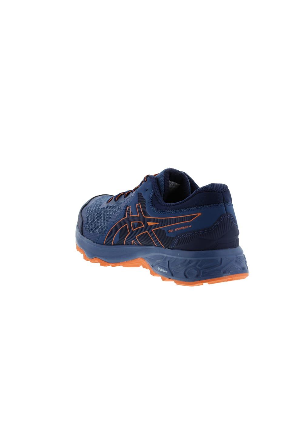 ce7fdfe8edb8d ASICS GEL-SONOMA 4 - Running shoes for Men - Blue
