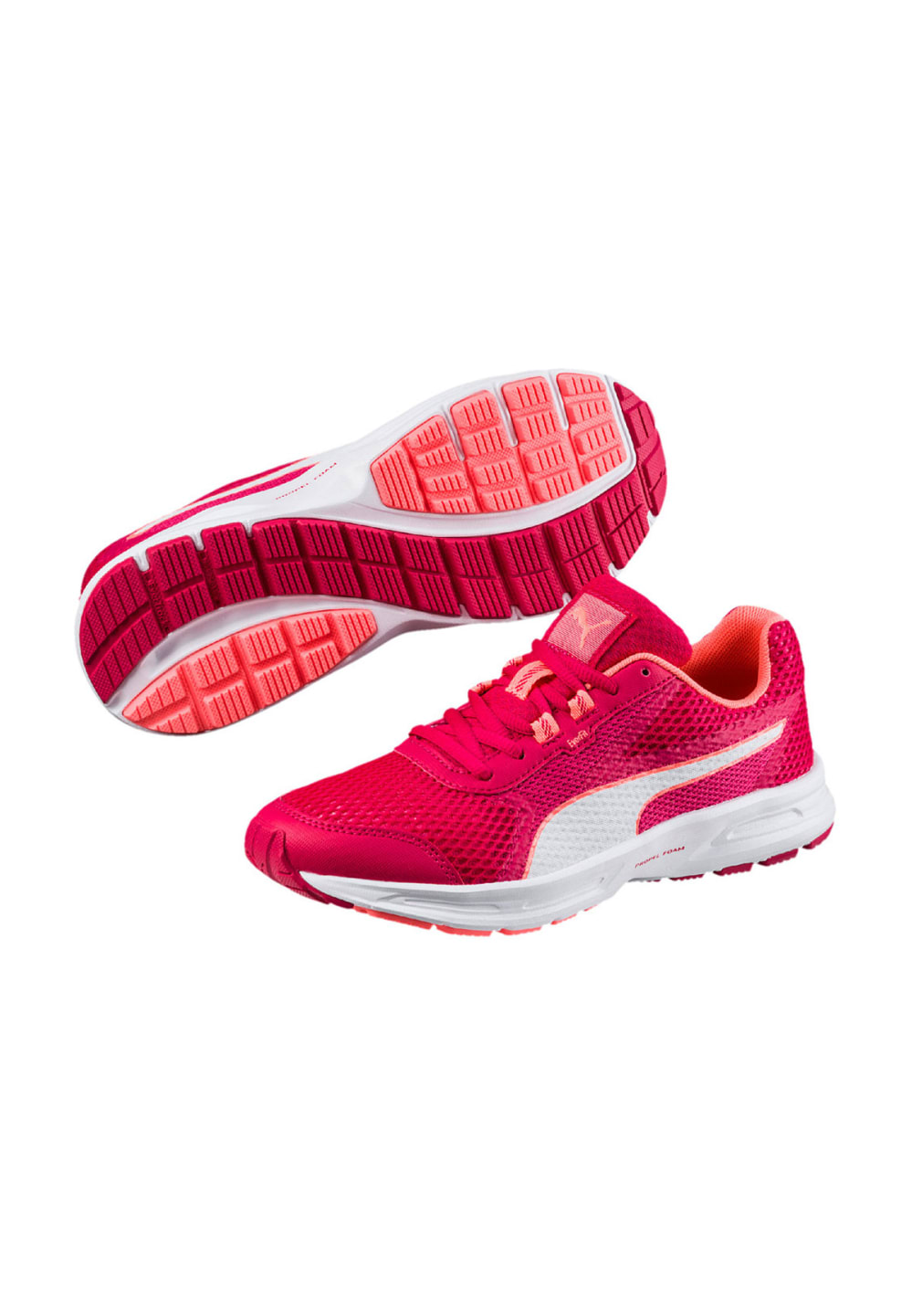 Puma Essential Runner Chaussures running pour Femme Rouge