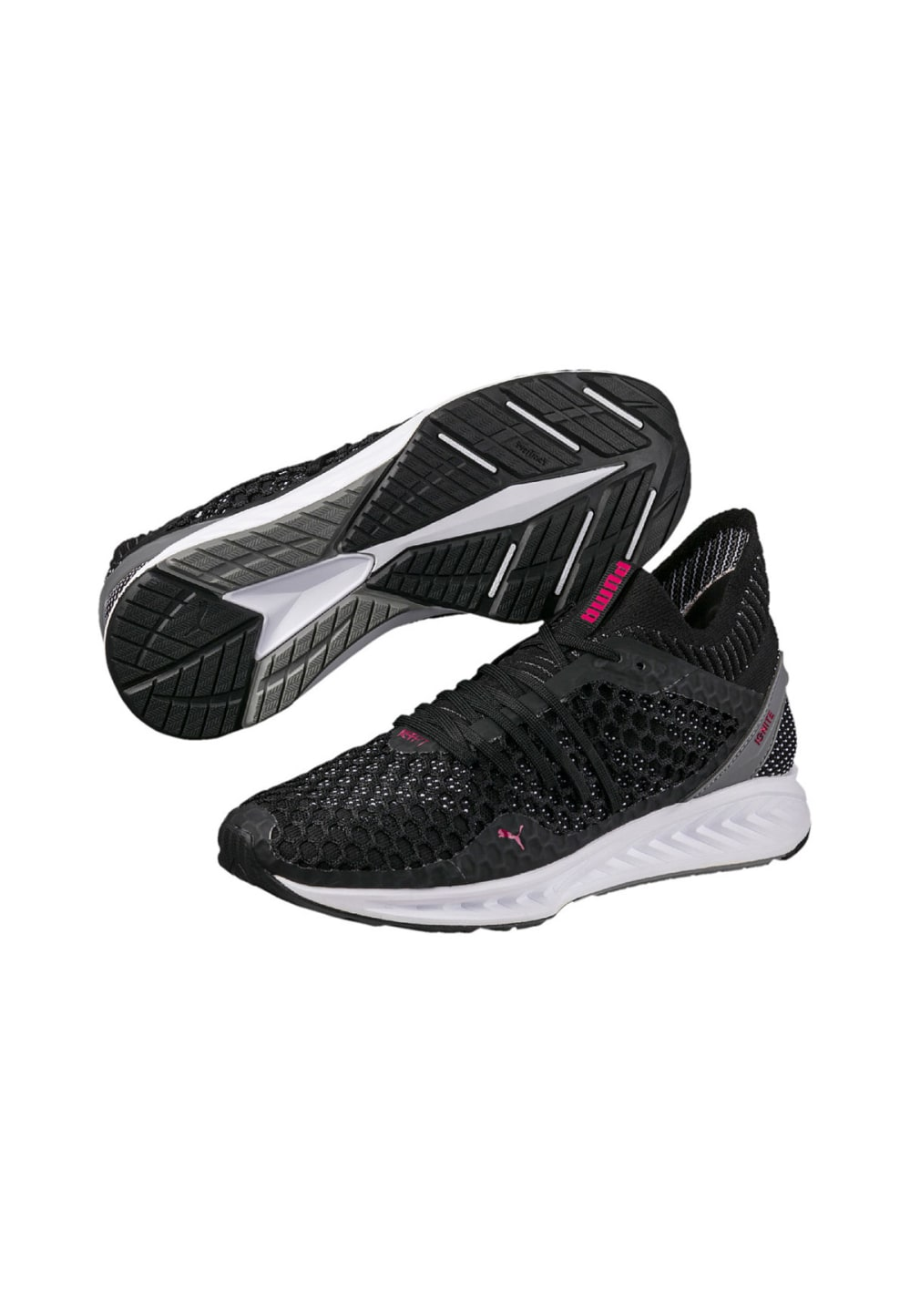 812268ea130 ... Puma IGNITE NETFIT - Running shoes for Women - Black. Back to Overview.  1  2  3. Previous