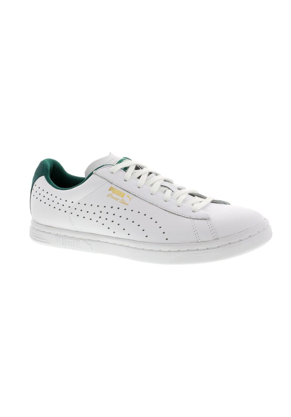 info pour cede5 cce53 Puma Court Star CRFTD - Tennis Shoes for Men - White