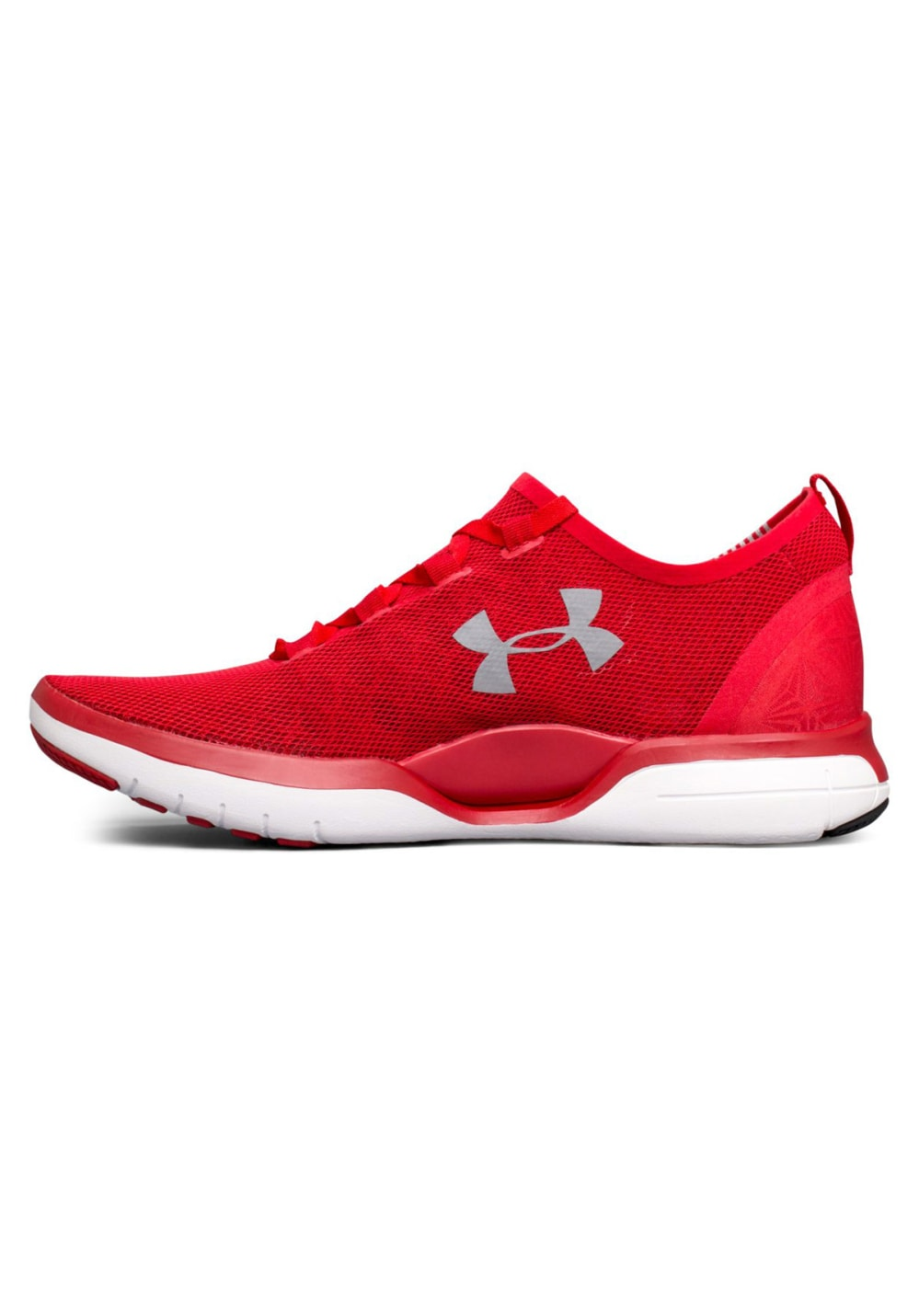 under armour shoes mens red Online