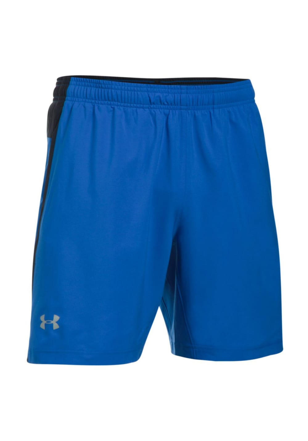 under armour launch sw 2 in 1 short laufhosen f r herren blau 21run. Black Bedroom Furniture Sets. Home Design Ideas