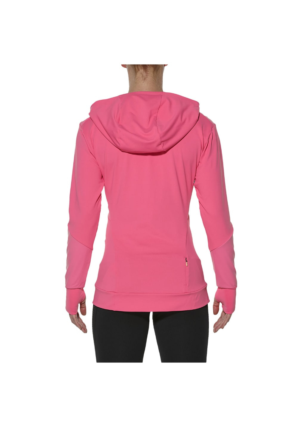 b8c7c6042ff9 ... ASICS Long Sleeve Jersey Hoodie - Running tops for Women - Pink. Back  to Overview. 1  2. Previous