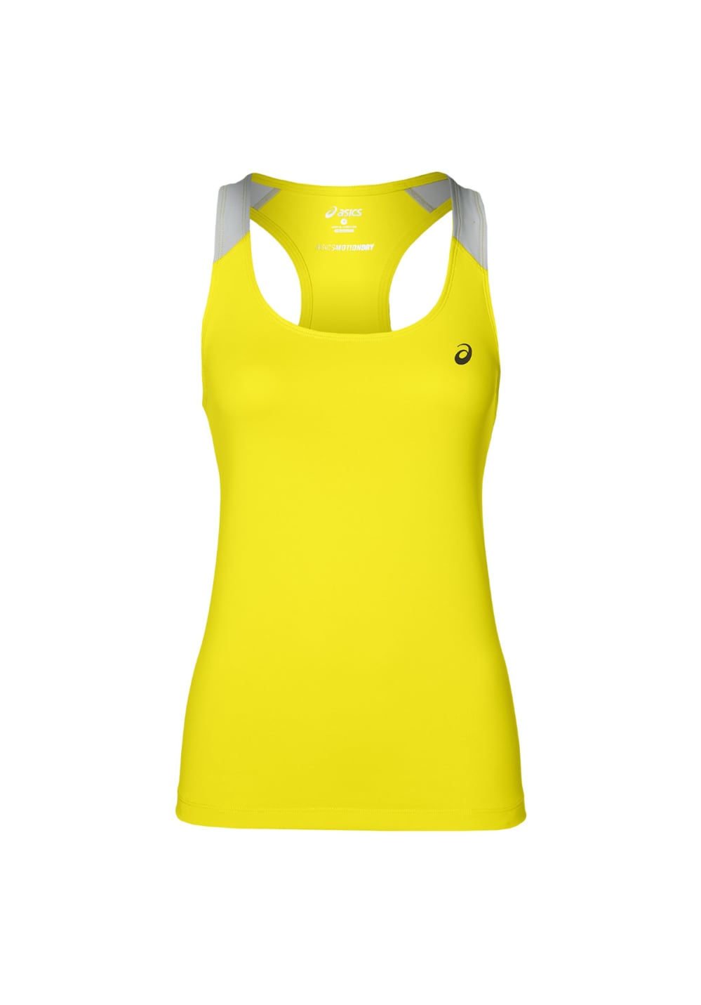 4e5d8ae1649 ASICS Fitted Tank - Running tops for Women - Yellow