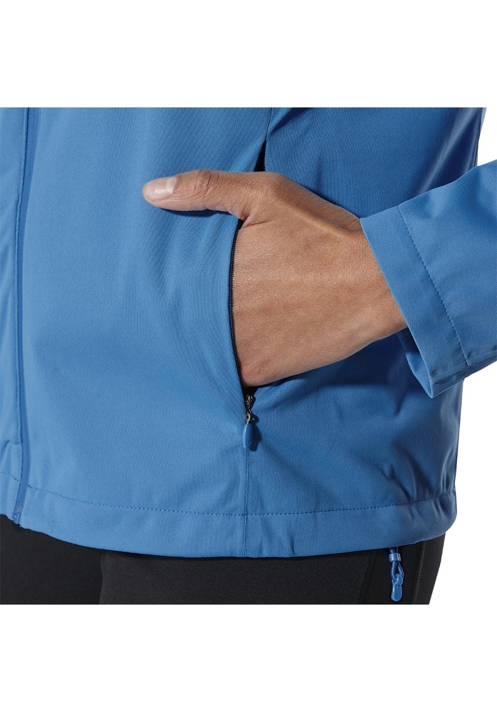 asics Accelerate Jacket Damen Laufjacke blau