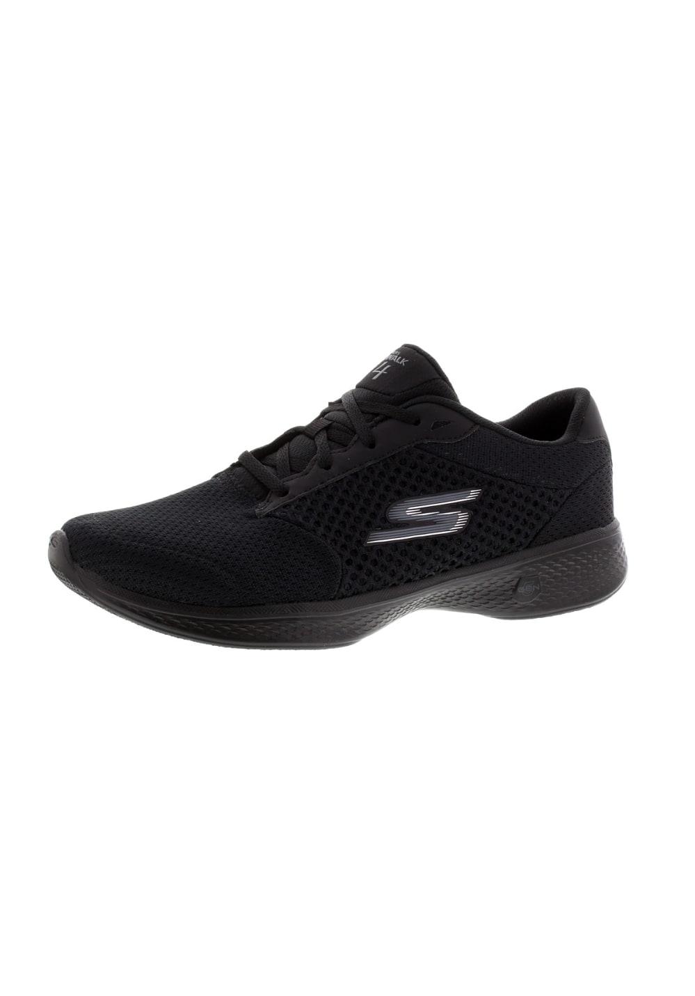 Skechers Gowalk 4-Exceed, Zapatillas Mujer, Gris (Gry), 36 EU