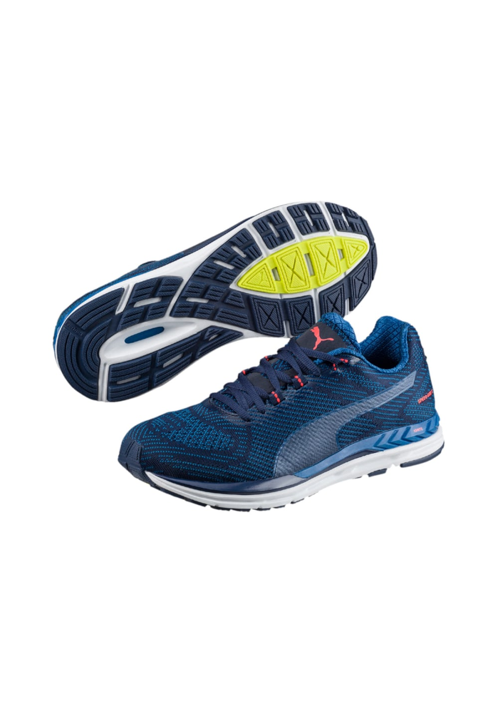 Puma Speed 600 S IGNITE Chaussures running pour Homme Bleu