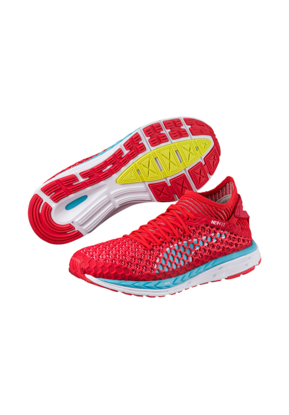 Puma Speed IGNITE NETFIT - Running shoes for Women - Red  7fe6b9d70