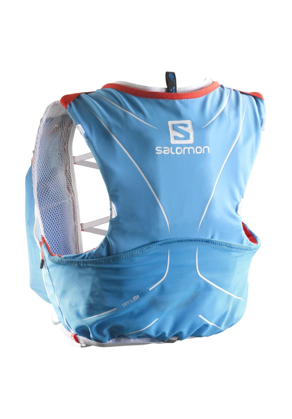 68b75728 Salomon S-Lab Adv Skin3 5 Set - Backpacks - Blue