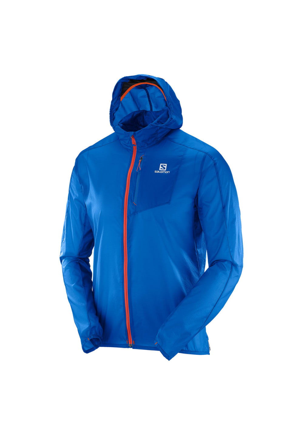 acheter pas cher aec80 17c3a Salomon Fast Wing Hoodie - Running jackets for Men - Blue