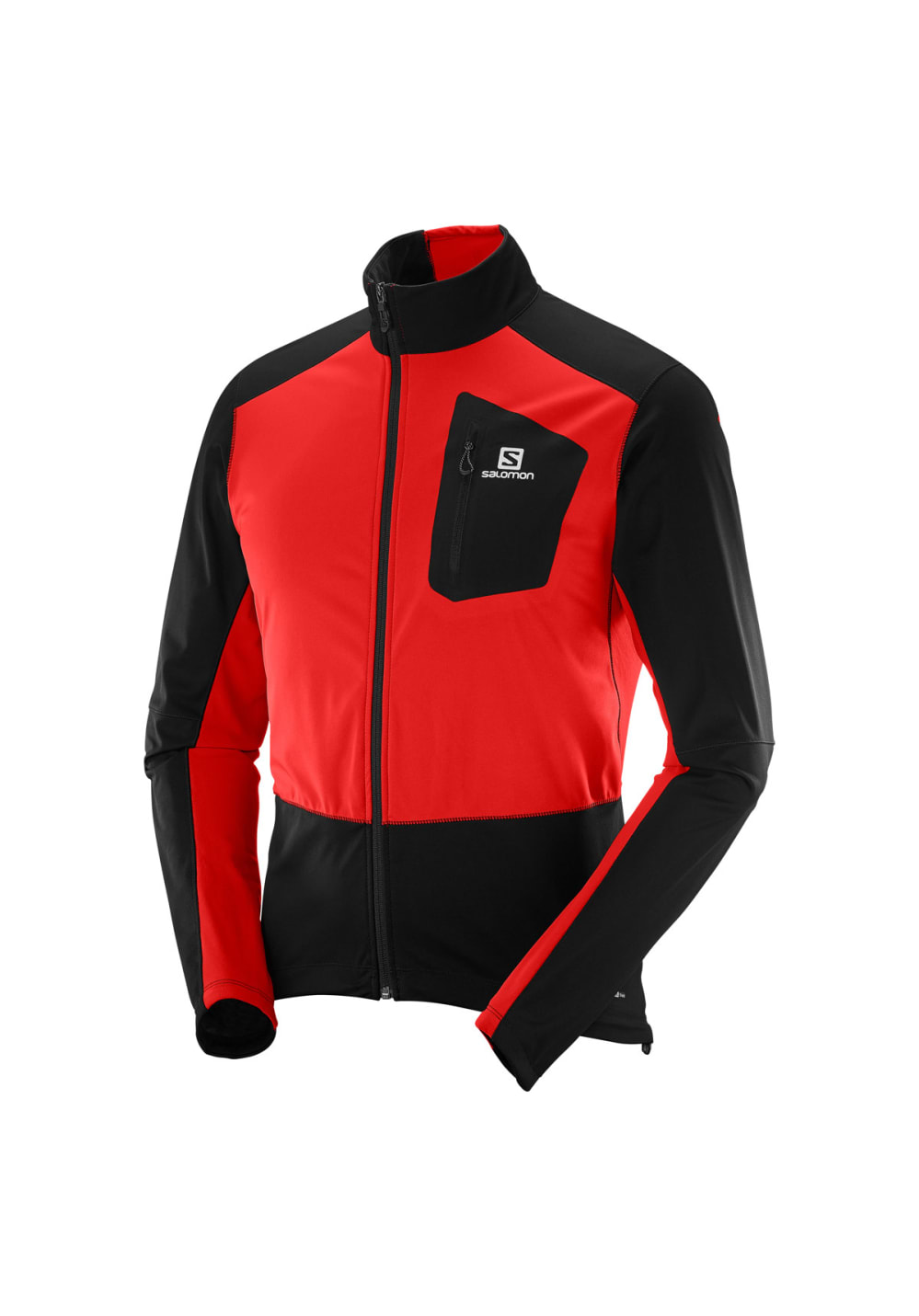 san francisco 86e2a 1a317 Salomon Equipe Softshell Jacket - Running jackets for Men - Red