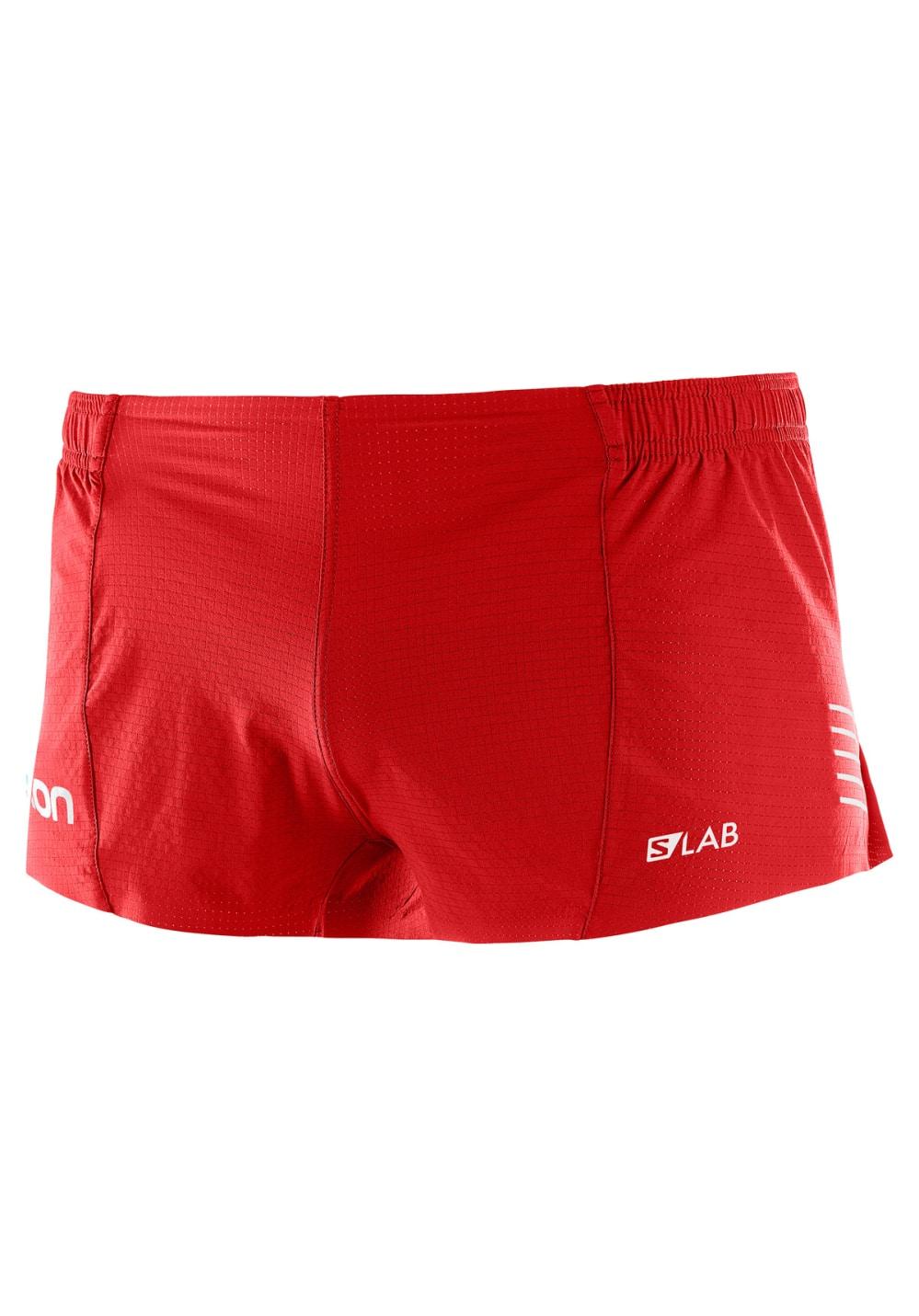 b4e8780a Salomon S-Lab Short 4 - Running trousers for Men - Red