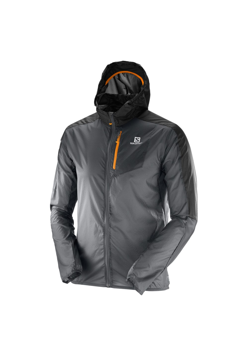 Nouvelles Arrivées c4eb4 901a4 Salomon Fast Wing Hoodie - Running jackets for Men - Grey