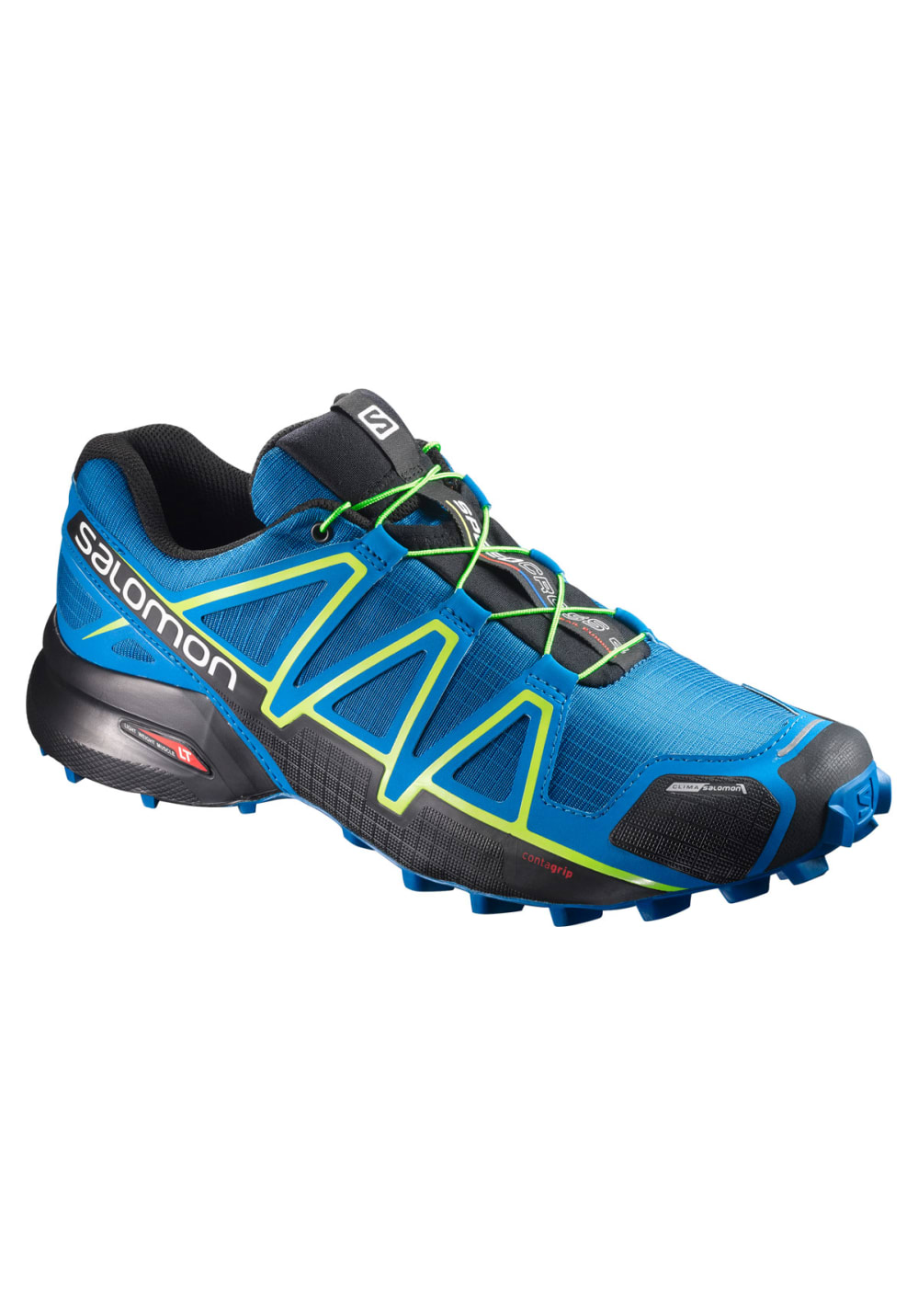 salomon speedcross 4 cs chaussures running pour homme bleu 21run. Black Bedroom Furniture Sets. Home Design Ideas