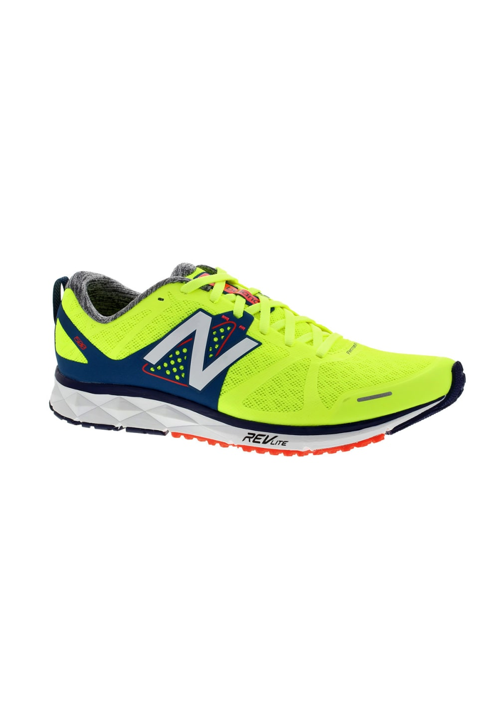 pas mal b580f c3812 New Balance M 1500 D - Chaussures running pour Homme - Jaune