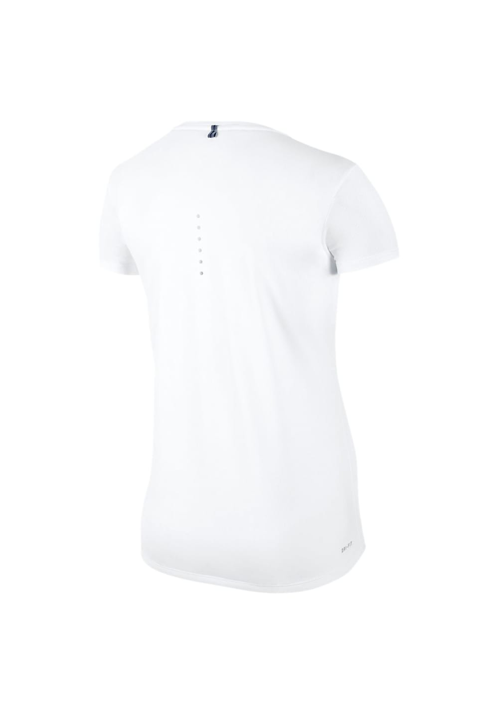 new high quality the best look for Nike Dri-Fit Contour Short Sleeve - Running tops for Women - White