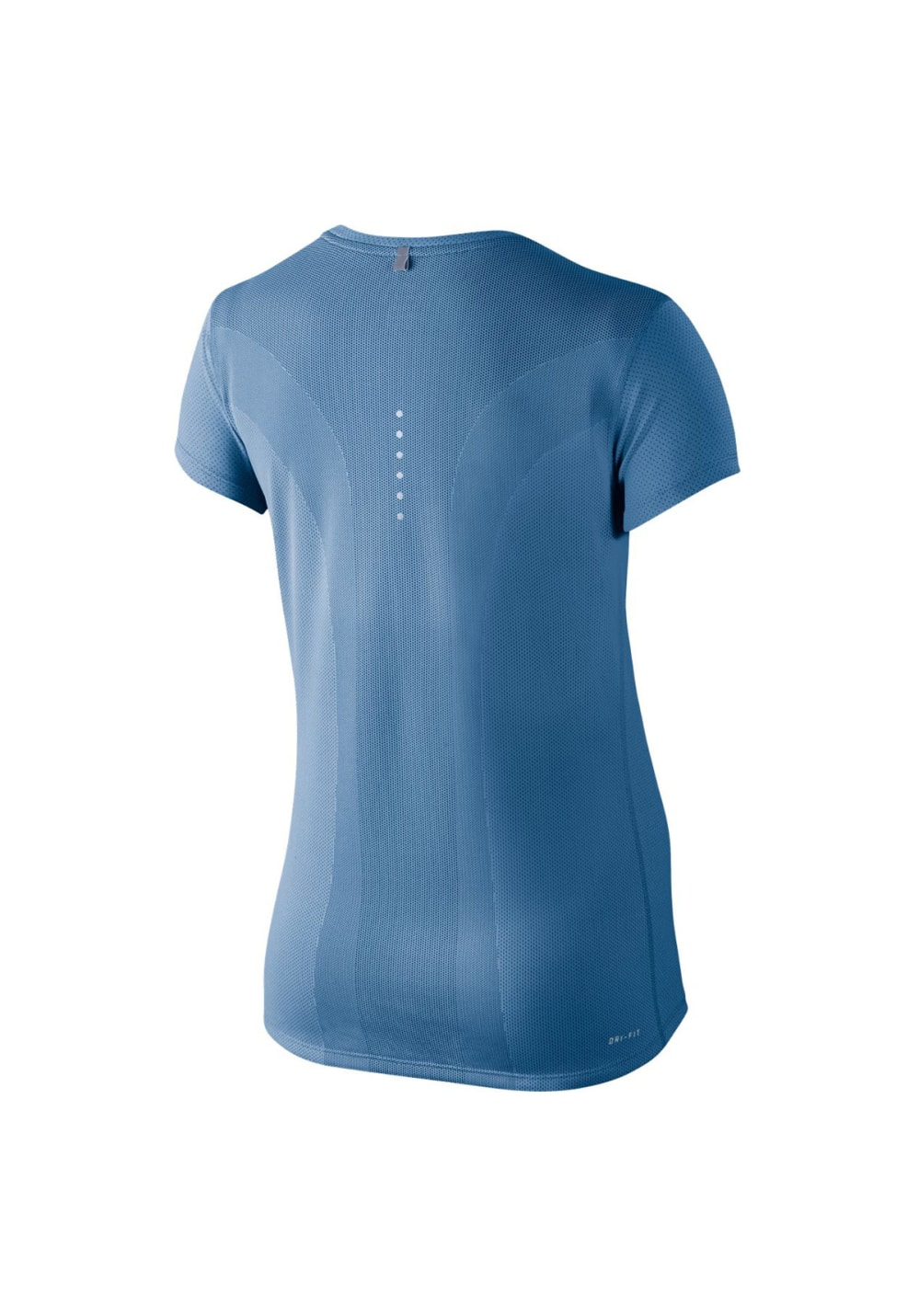 Nike Contour Running T-Shirt - Laufshirts für Damen - Blau
