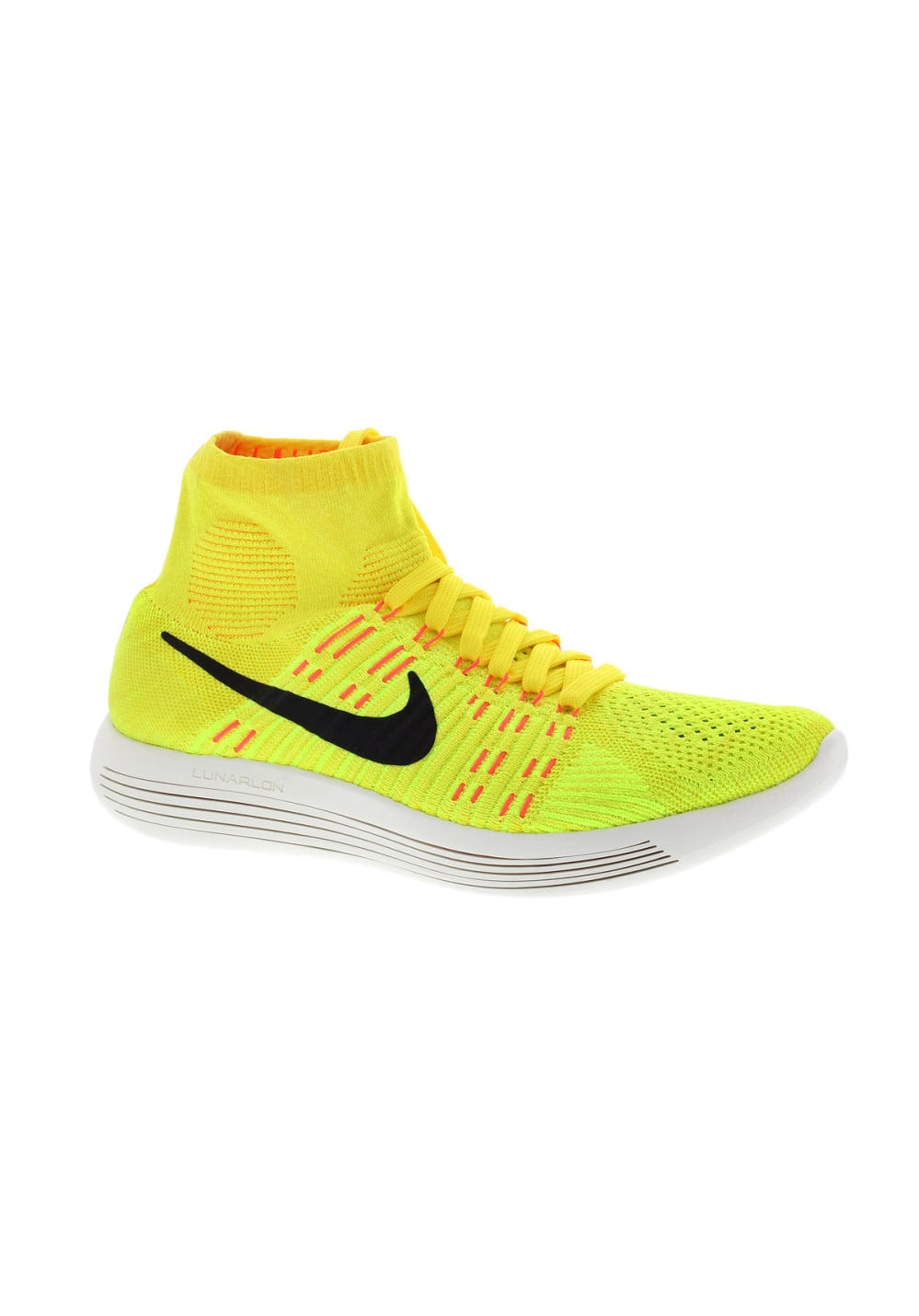 taille 40 3ebee 012ac Nike Flyknit Lunarepic - Chaussures running pour Femme - Jaune