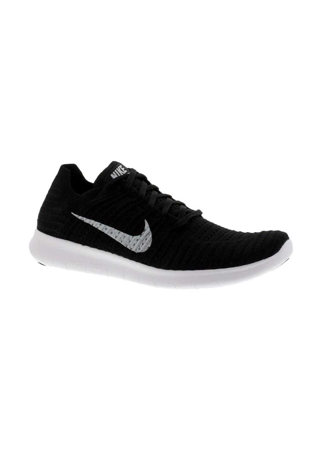 meilleure sélection 4a3cf 5b2f5 Nike Free Run Flyknit - Chaussures running pour Homme - Noir