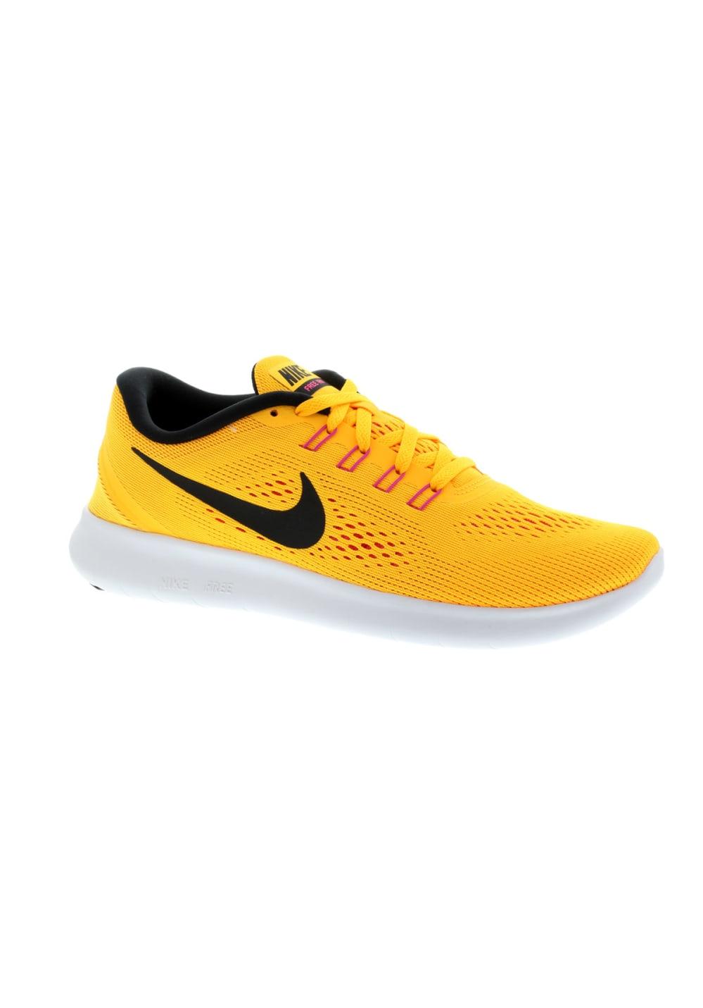 plus récent 934e6 1da52 Nike Free RN - Chaussures running pour Femme - Jaune