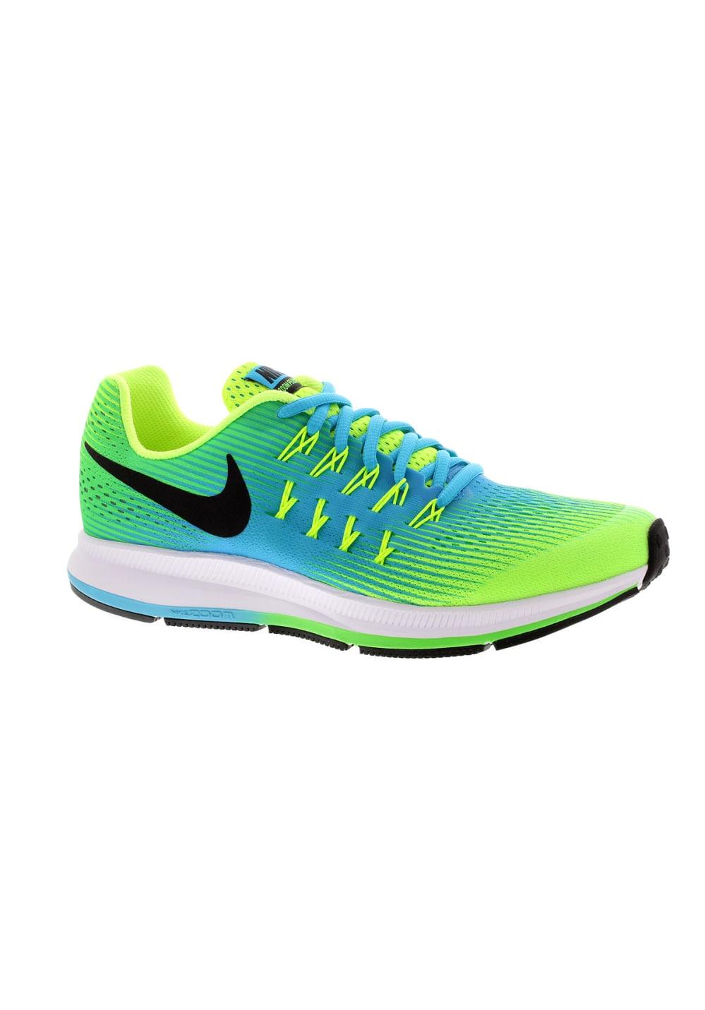 grande vente 147be 4c1ad Nike Air Zoom Pegasus 33 GS Boys - Chaussures running - Bleu