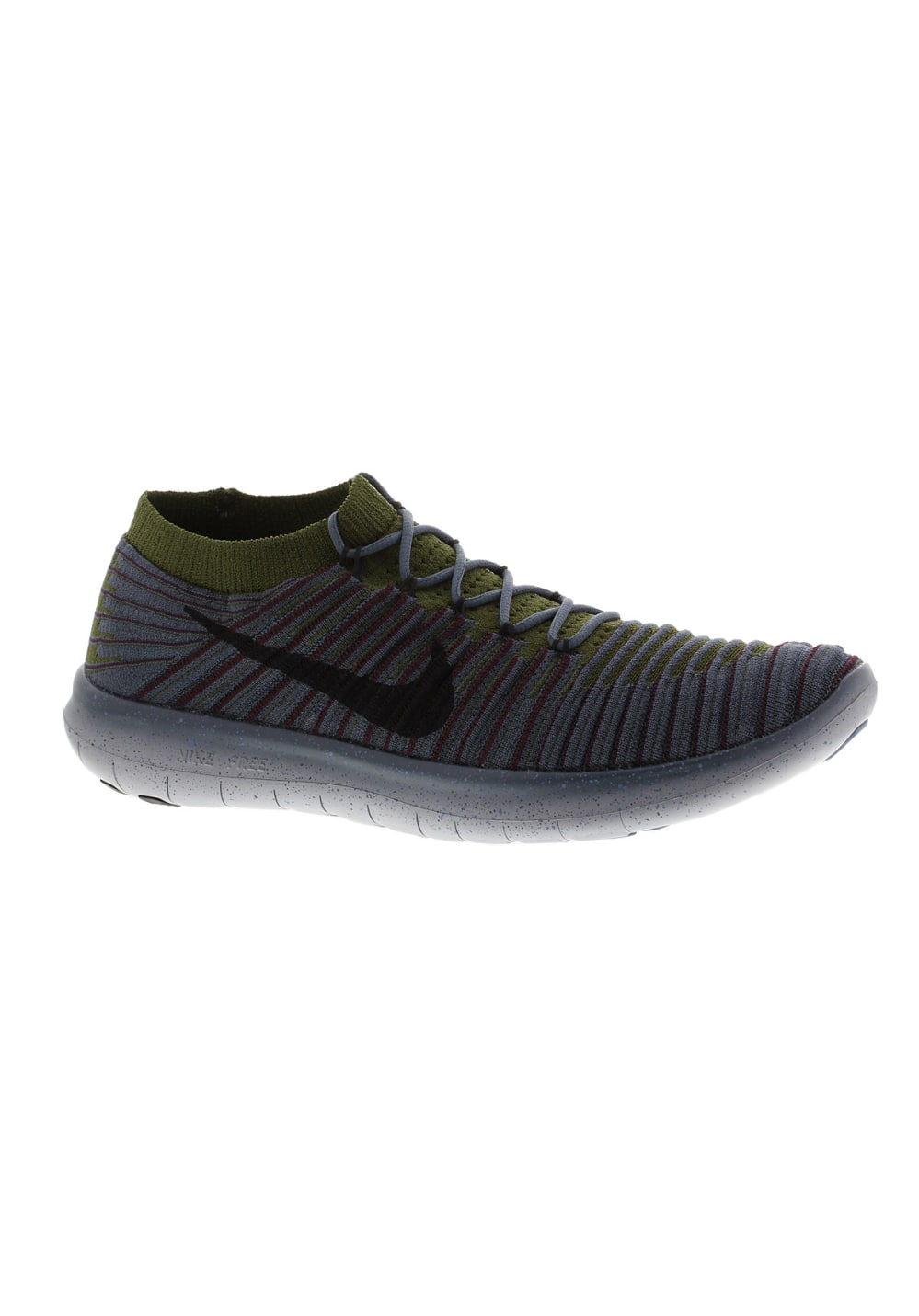super populaire c4327 77048 Nike Free RN Motion Flyknit - Chaussures running pour Homme - Noir