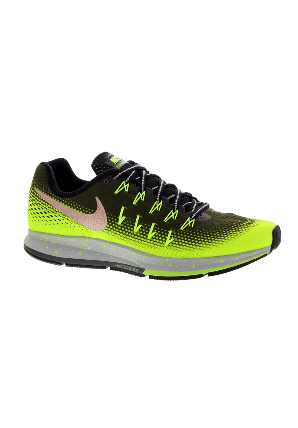 Nike Air Zoom Pegasus 33 Shield - Running shoes for Men - Green