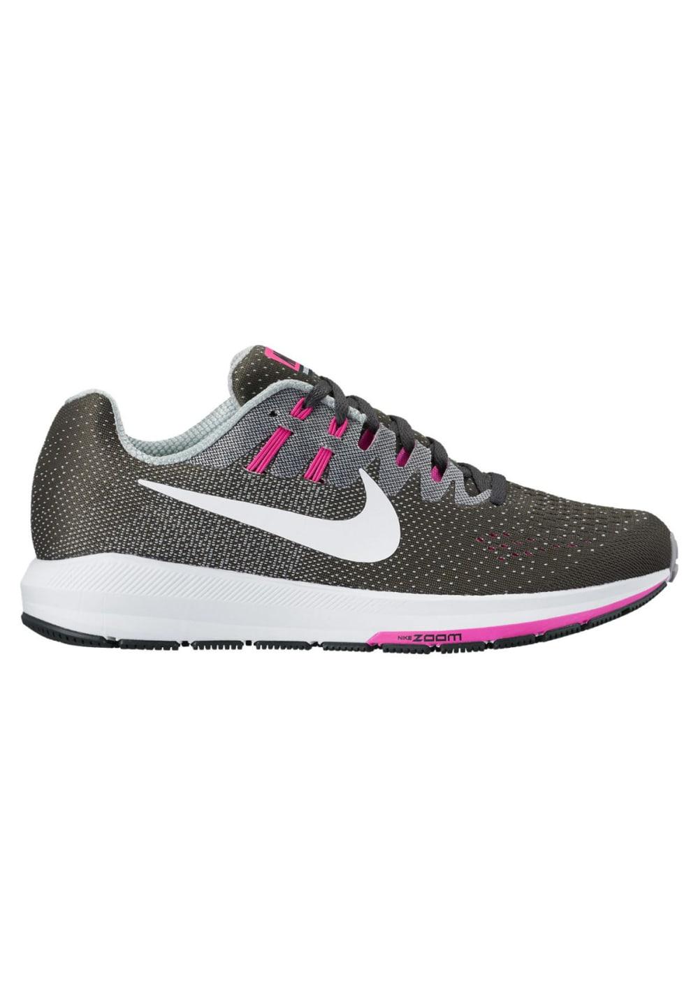 Nike Air Zoom Structure 20 Laufschuhe für Damen Grau