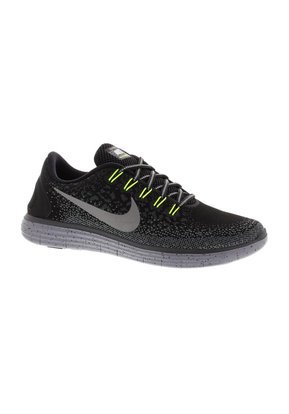 design de qualité 8c53f 450a1 Nike Free Run Distance Shield - Chaussures running pour Homme - Noir