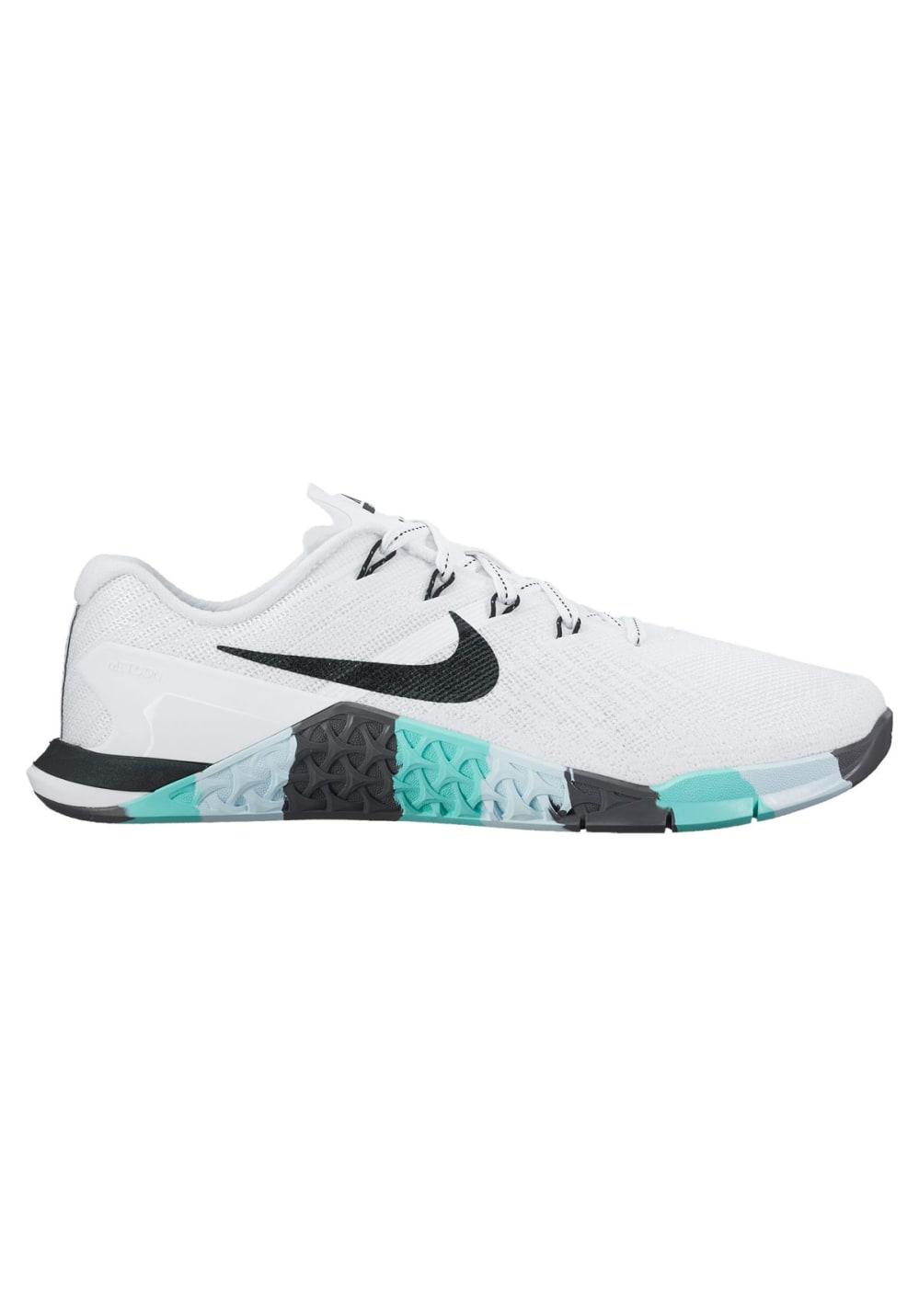 Nike Metcon 3 Fitnessschuhe für Damen Weiß