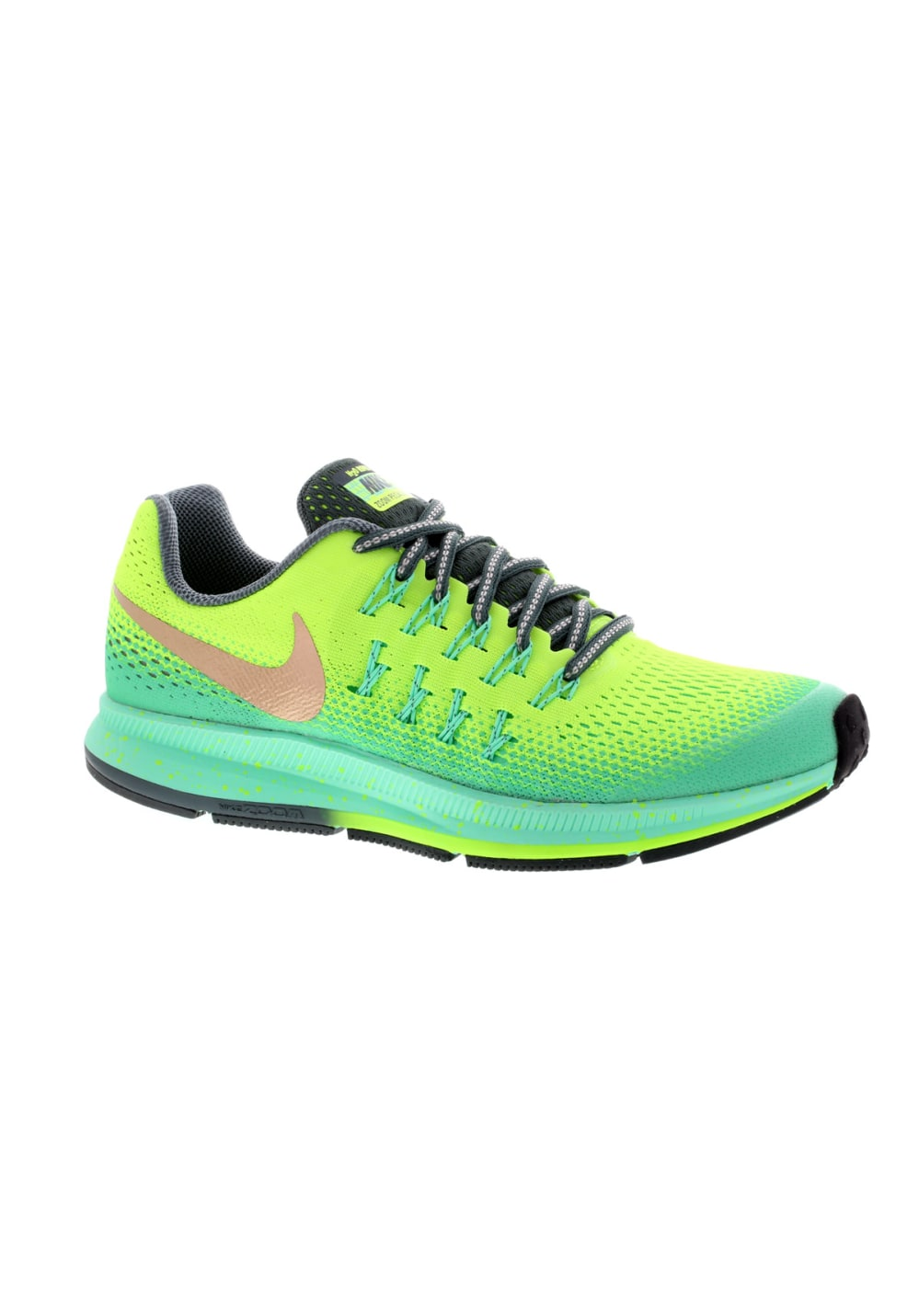 Nike Air Zoom Pegasus 33 Shield GS - Laufschuhe - Blau