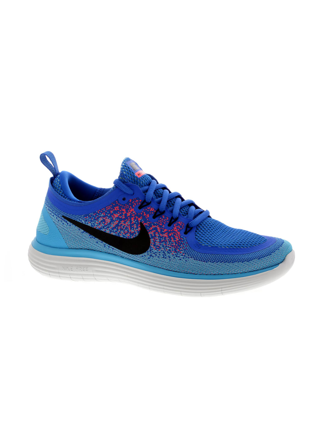 Nike Free RN Distance 2 - Running shoes for Men - Blue  63cadc7dd68fa