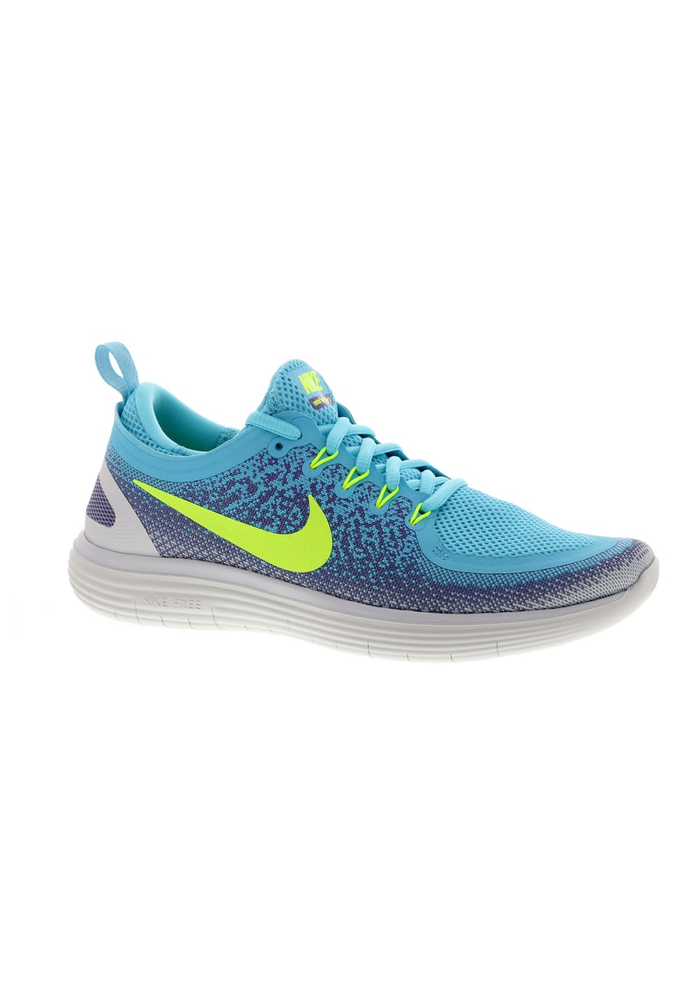 best website 7078a f2571 Nike Free RN Distance 2 - Running shoes for Women - Blue
