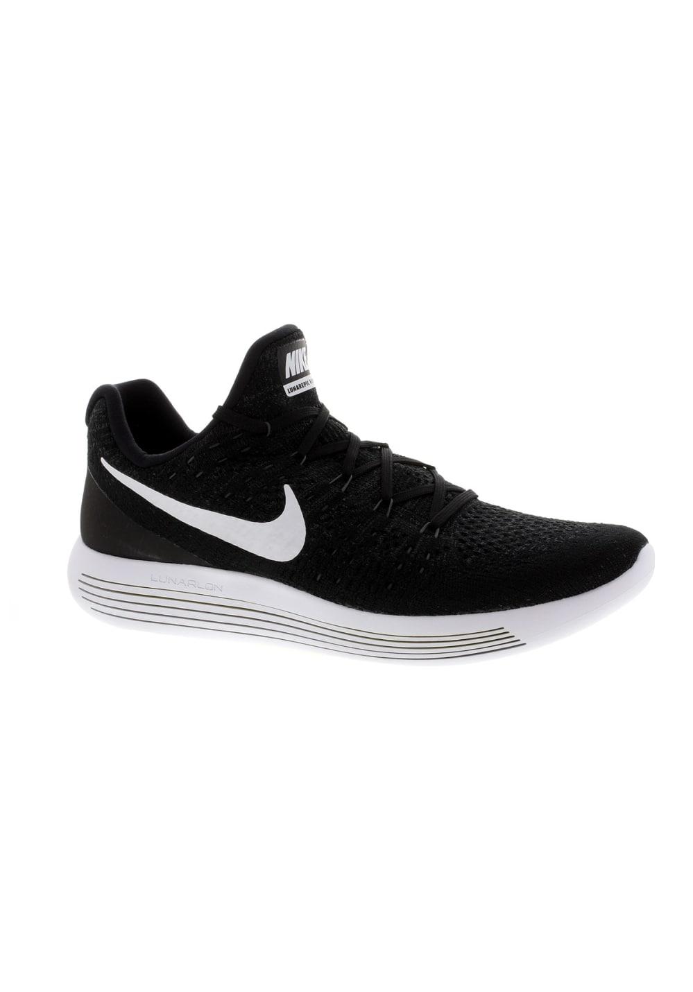 sale retailer ca1dd 11624 Nike Lunarepic Low Flyknit 2 - Running shoes for Men - Black