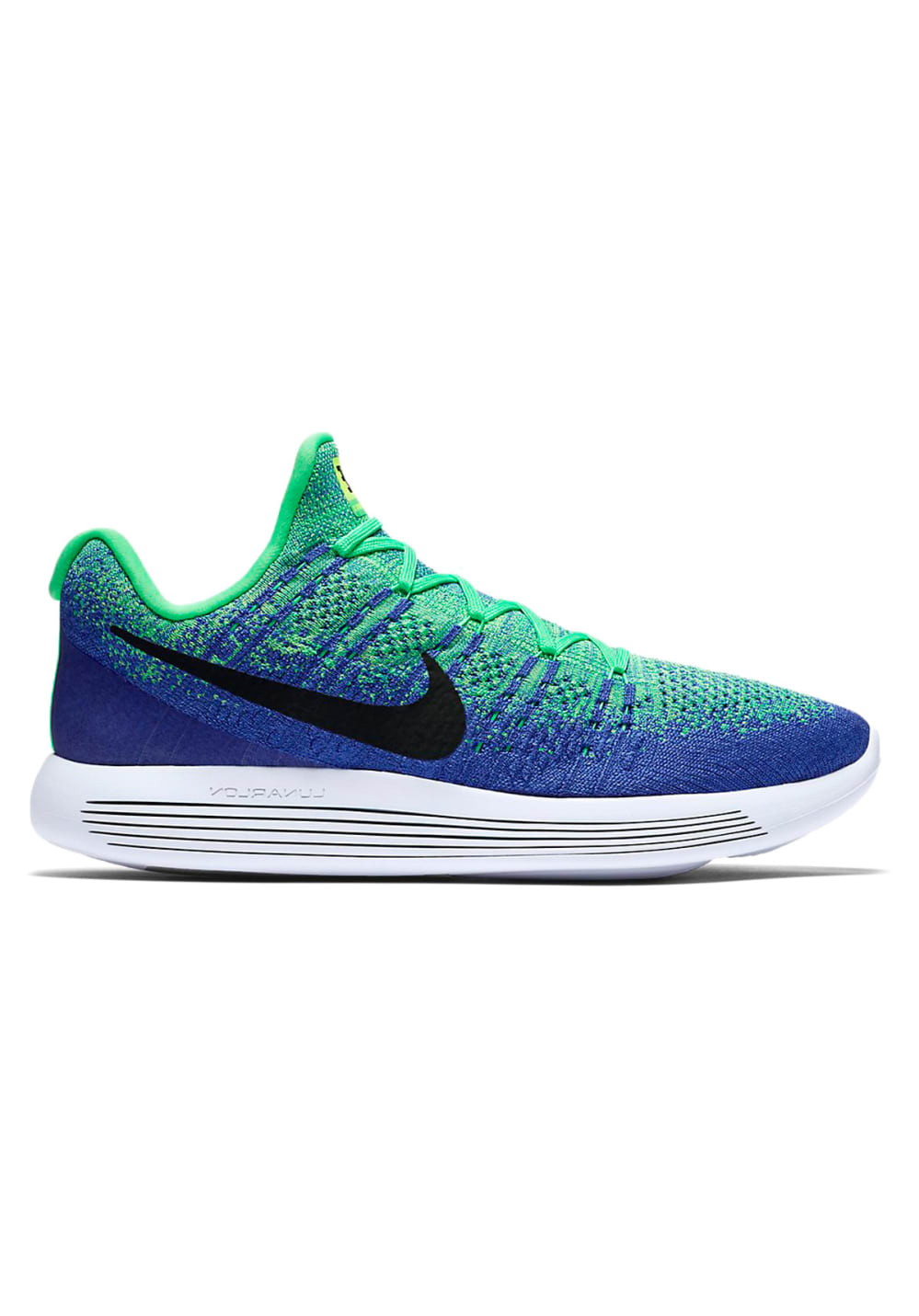 pretty nice e14fa f136e Nike Lunarepic Low Flyknit 2 - Running shoes for Men - Blue