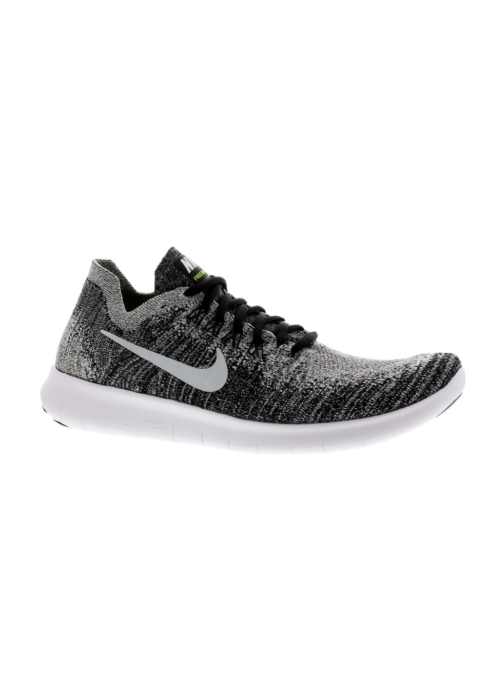 Nike Free RN Flyknit 2017 Chaussures running pour Homme Gris