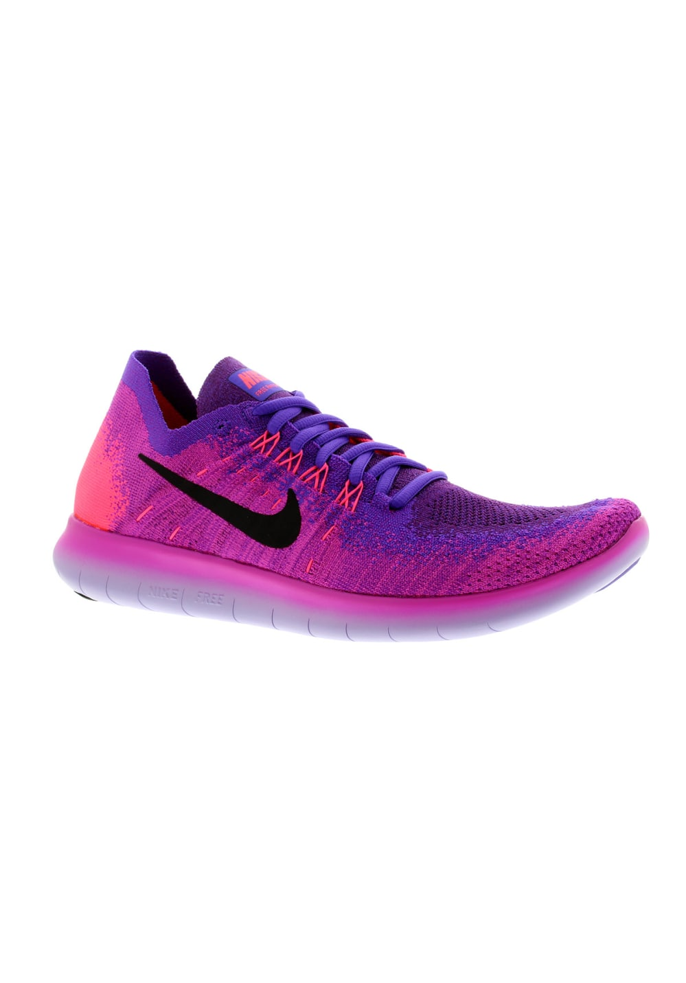 save off fecf1 e6bf6 Nike Free RN Flyknit 2017 - Running shoes for Women - Purple