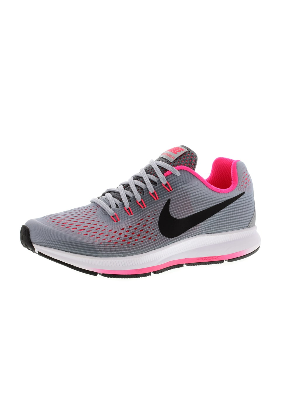 new product f5d40 09669 Nike Girls Zoom Pegasus 34 GS - Running shoes - Grey